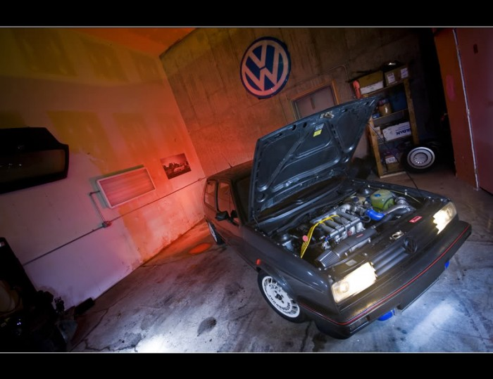 Indoor photoshoot golf BBM VW-Autowerk
