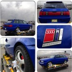 VW-Autowerk audi rs2 loading at the airport